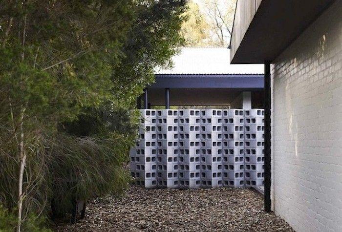10 Genius Garden Hacks With Concrete Breeze Block Wall Concrete Blocks Concrete Block Walls