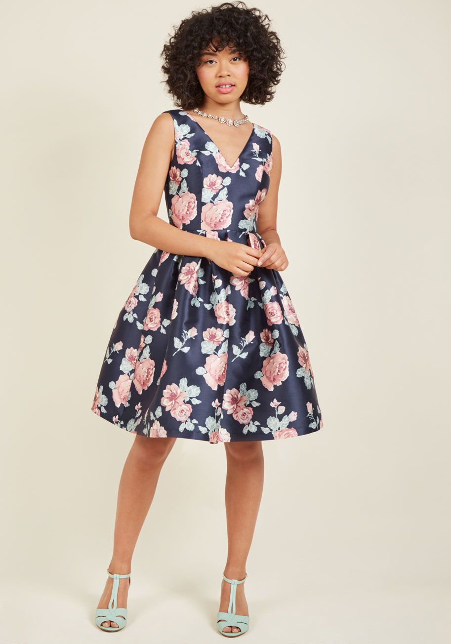 1094df0b3ed Chi Chi London Sweetly Celebrated Fit and Flare Dress