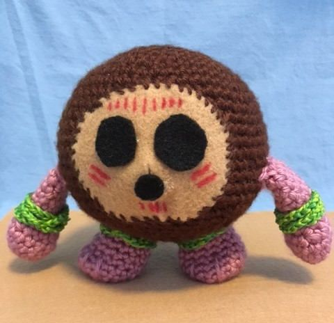 Crocheted Kakamora - From Disney\'s \