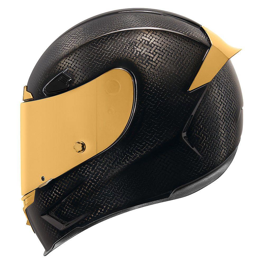 Carbon Gold Helmets Icon Motosports Ride Among Us