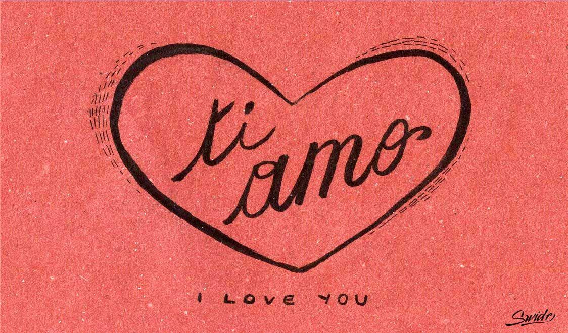 Картинки с надписями о любви на итальянском
