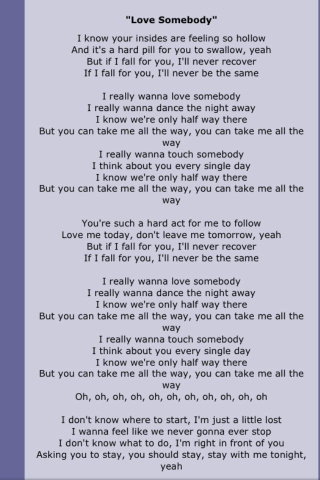 Lyric maroon five love somebody lyrics : Payphone - Maroon 5 |