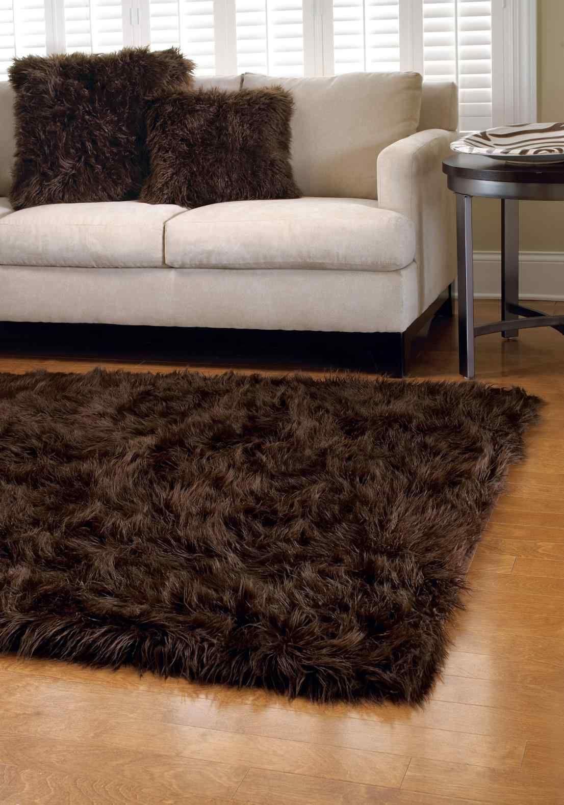 Faux Fur Rug Canada