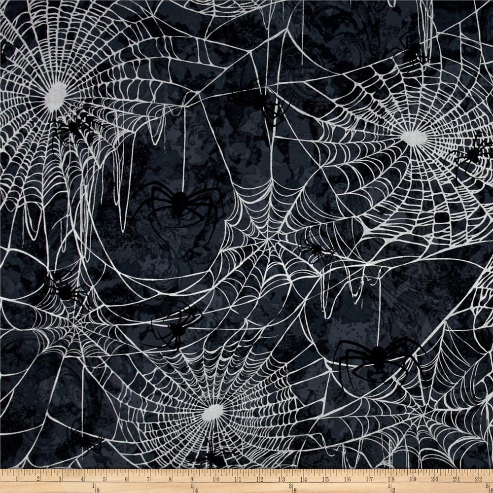 Halloween Black Widow Metallic Gray Silver Spider Drawing Spider Art Halloween Scrapbook