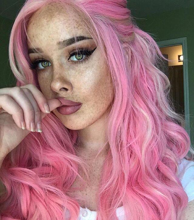 pin von laetitia mc mitchell auf pink hair pinterest haar. Black Bedroom Furniture Sets. Home Design Ideas