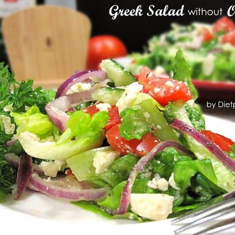 Greek Salad Without Olives South Beach Phase 1 Recipe