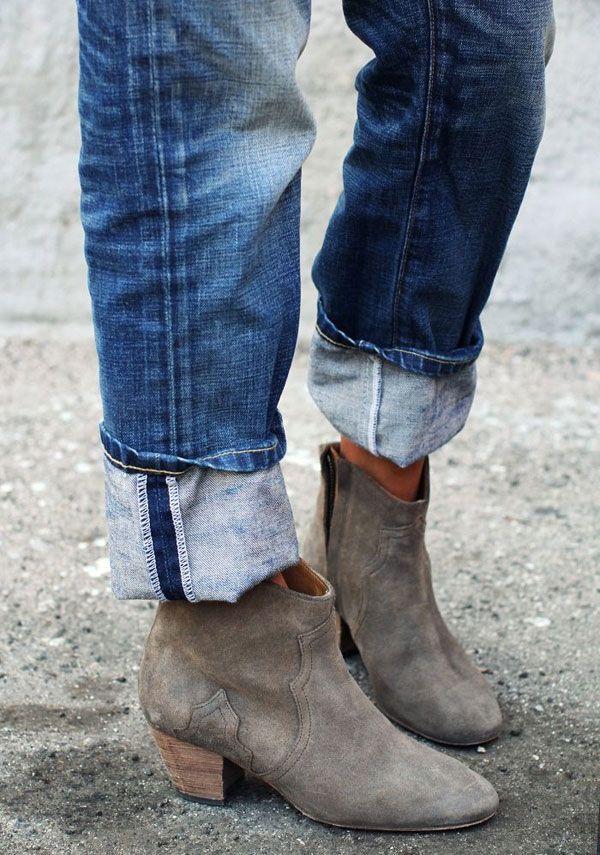6da3d4502a3 DICKER BOOTS / ISABEL MARANT | Snuggle My Feet | Fashion, Shoes ...