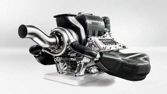 Renault state of the art Formula one Engine
