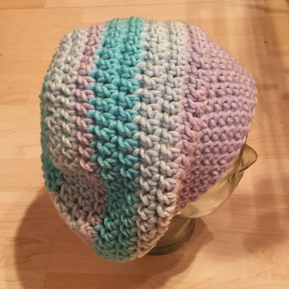 Mütze häkeln: Heute ist meine Baskenmütze aus der MyBoshi-Wolle ...