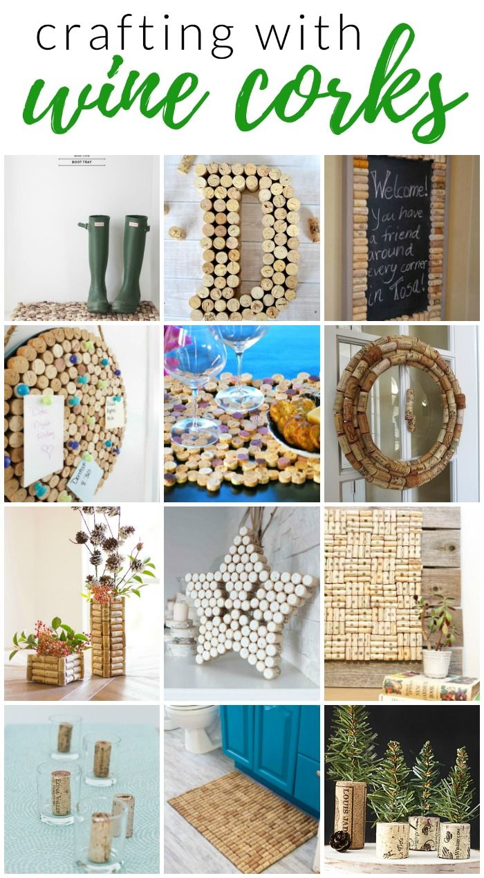Crafting with Wine Corks #uniquecrafts