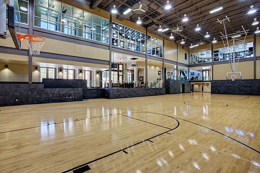 The Dominion Home For Sale Home Basketball Court Indoor Basketball Court Luxury Homes Dream Houses