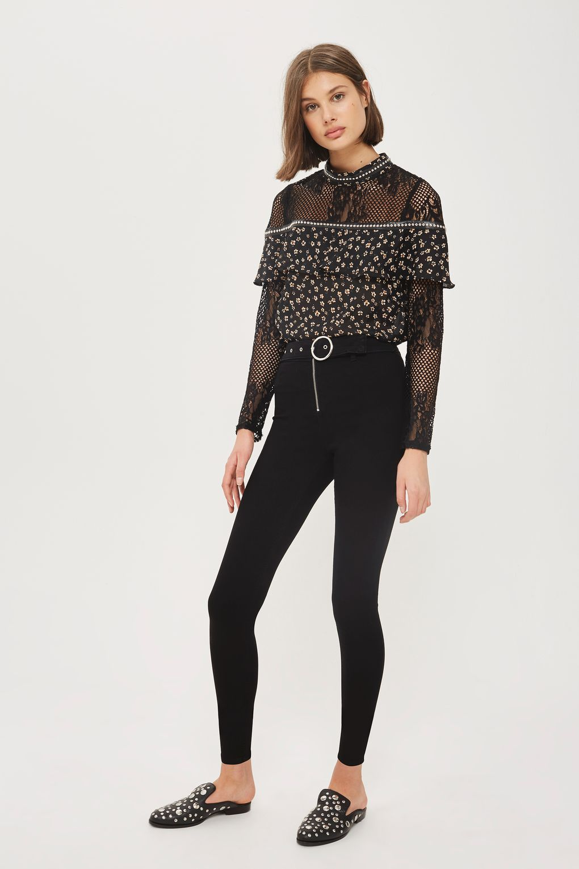 038ae67f5ee MOTO Belted Black Joni Jeans | Fashion Wish List | Joni jeans, Jeans ...