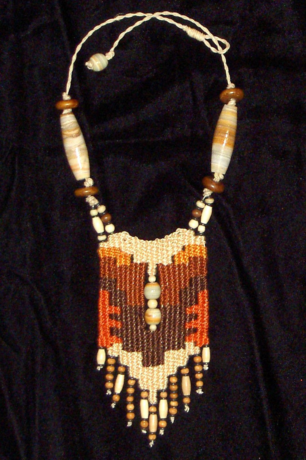 The Raven's Cache, Gallery of Woven Necklaces