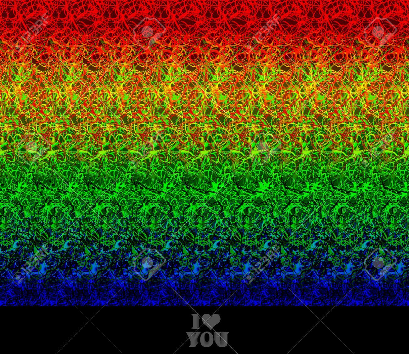 Valentine Greeting I Love You Stereogram Autostereogram Creates The Illusion Of A 3d Image Aff Love Stereogr Magic Eye Pictures Magic Eyes Illusions
