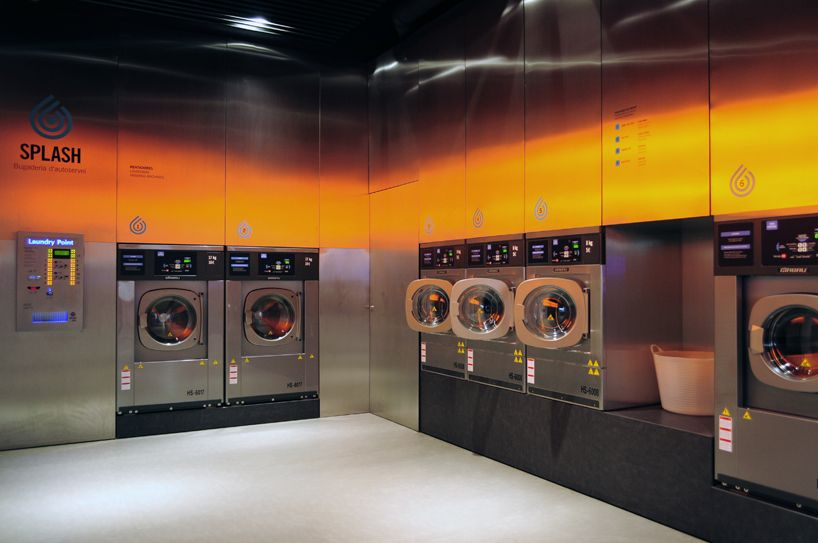 Splash Laundromat By Frederic Perers Laundromat Laundry Shop