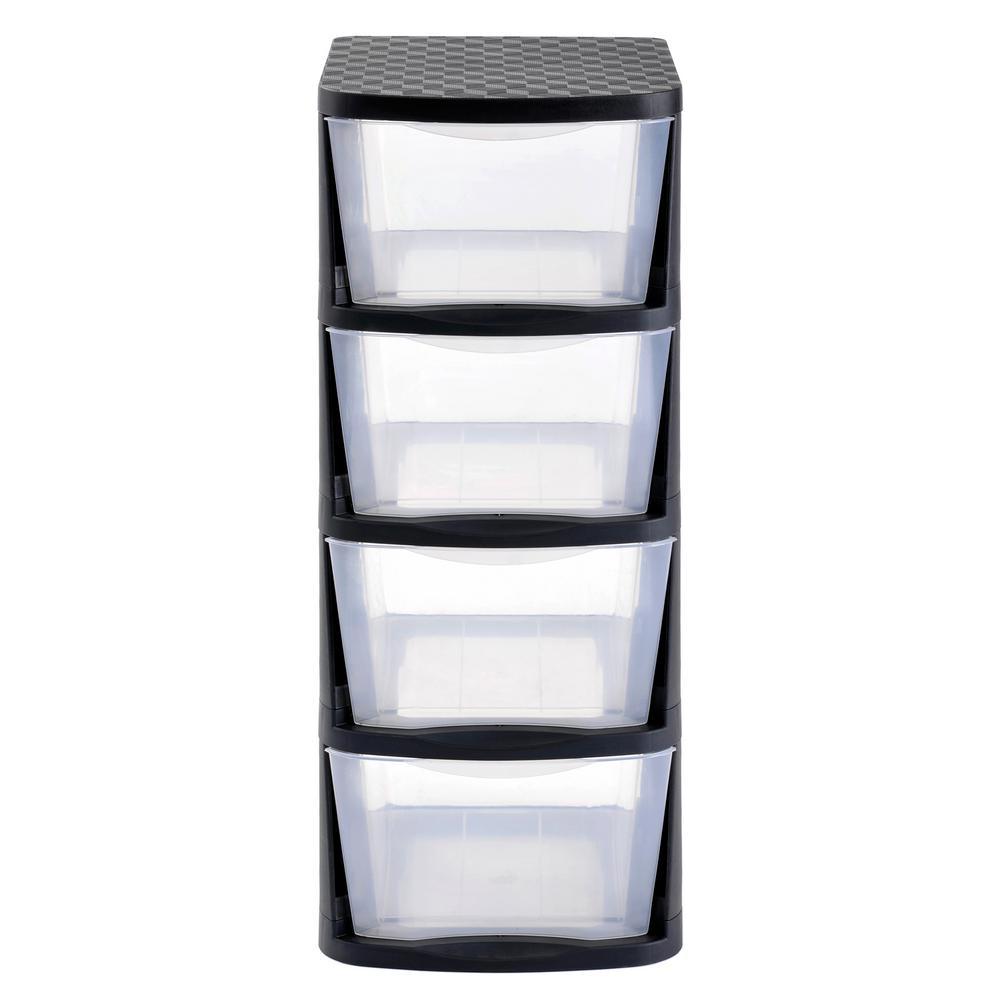 Wham 2 Qt Organizer Boxes Set Of 4 17675 In 2020 Plastic Box Storage Storage Boxes Organization Boxes
