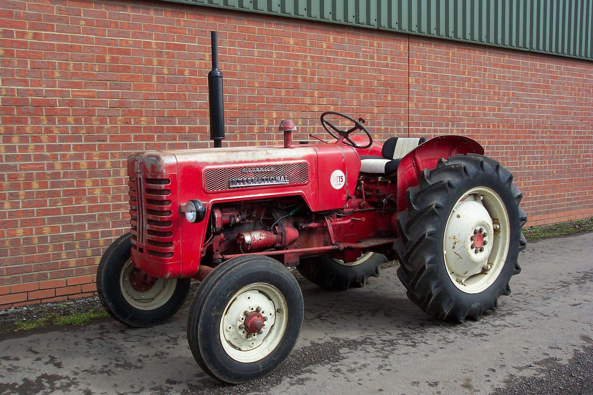 Mccormick International B275 Tractors International Harvester Tractors International Tractors
