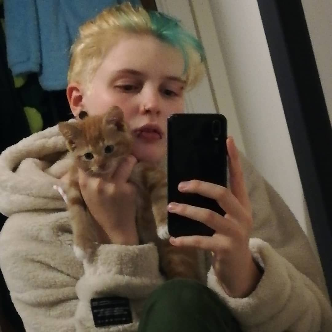 baby o clock - - - #eboy #eboyaesthetic #aesthetic #aestheticoutfit #tumblrinspo #grunge #gay #bi #aesthetictumblr #retroaesthetic #vintageoutfit #softgrunge #egirls #eboys #grungeaesthetic #eboytiktok #wholesome #softboy #softboyaesthetic #softaesthetic #darkaesthetic #fashion #inspo #kitten #gingerkitten #cute #cat #cats #kittens #gingerkitten