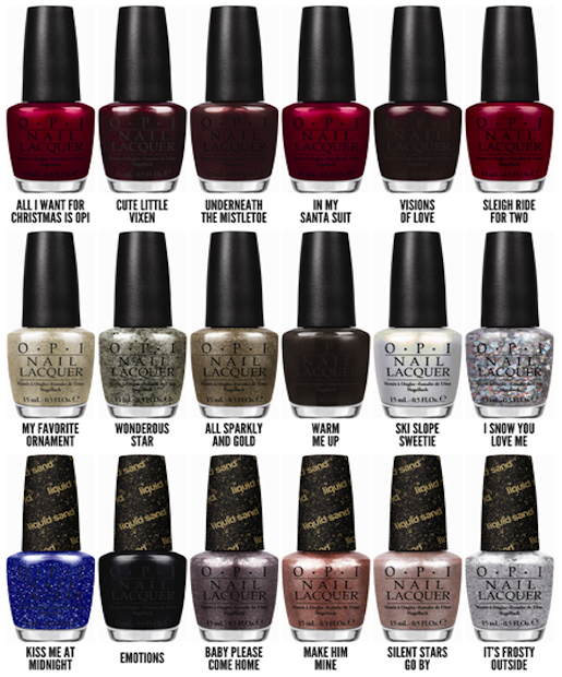 Mariah Carey\'s OPI Holiday Nail Collection | OPI, Mariah carey and ...
