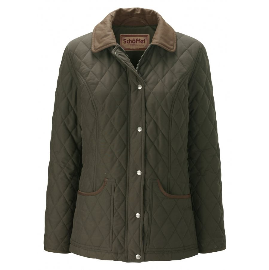 country fog quilted jacket