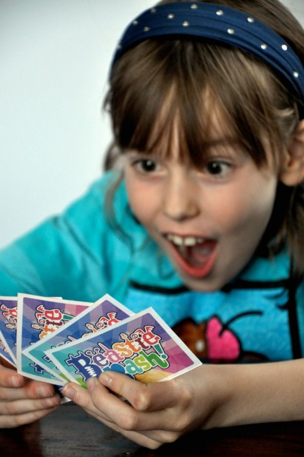 We LOVE this game--> Silly character mix-and-match card game, Beastie Bash!