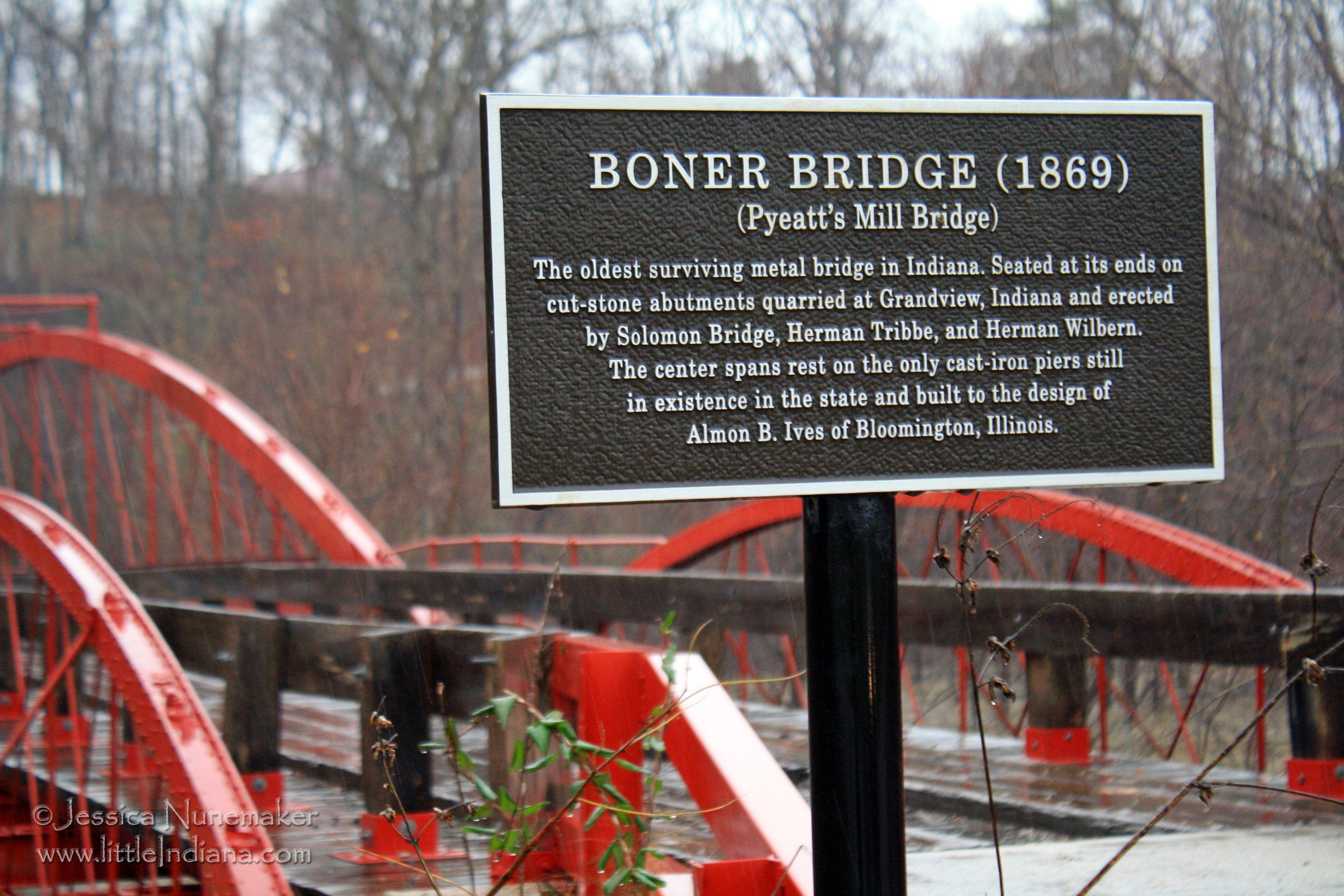 Indiana spencer county rockport - Boner Bridge Or Pyeatt S Mill Bridge In Spencer County