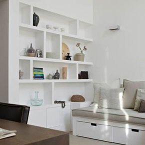 wil je een ander soort boekenkast voor in je interieur dan de standaard boekenkast die je tegen de wand aanzet ga voor een inbouw boekenkast op maat