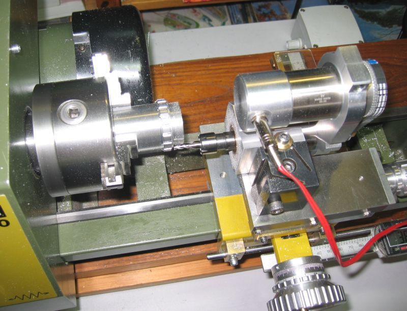 the lathe as drill or driven by the use of tools on lathes lathe tool post grinder drill. Black Bedroom Furniture Sets. Home Design Ideas