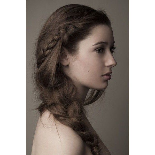 30 Side Braid Hairstyles ❤ liked on Polyvore featuring hair and hairstyles