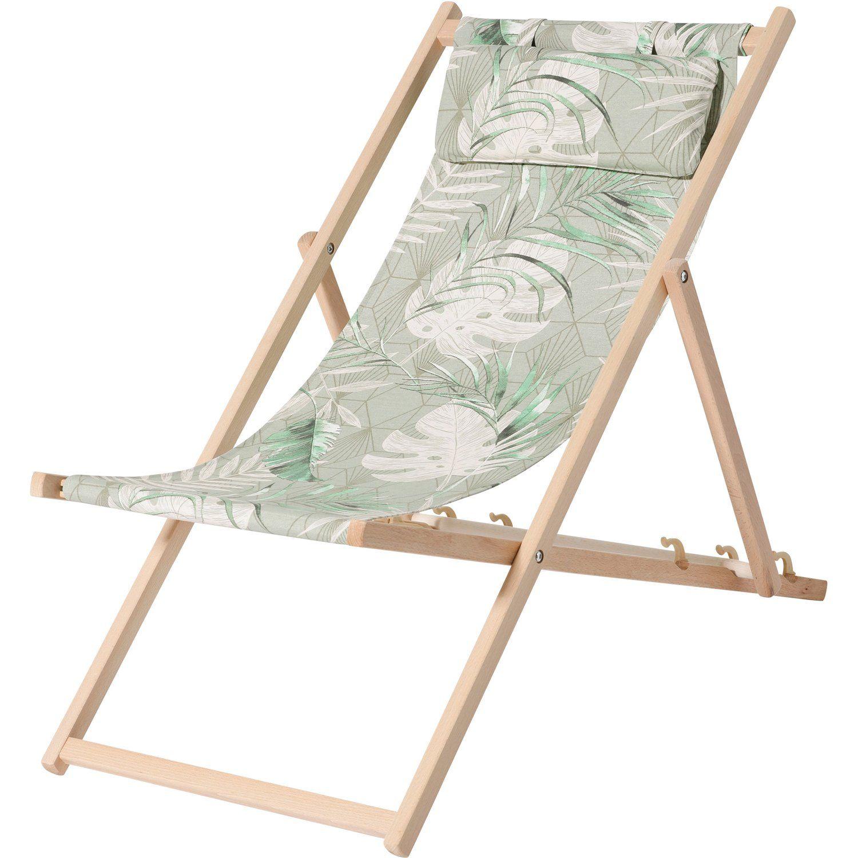 Madison Liegestuhl Dotan Green Strandstuhl Liegestuhl Und Stuhle