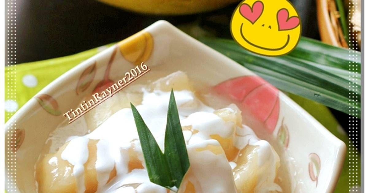 Resep Singkong Manis Ala Thailand Aka Sweet Casava Oleh Tintin Rayner Resep Resep Cemilan Puding Coklat