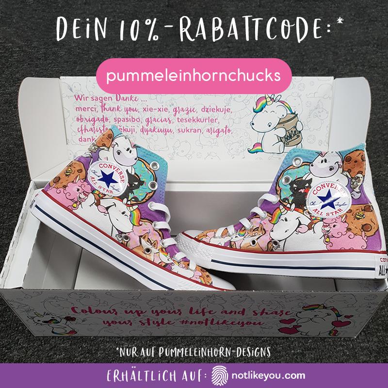 Pummeleinhorn & Friends Scribble | Converse | KOLLEKTION