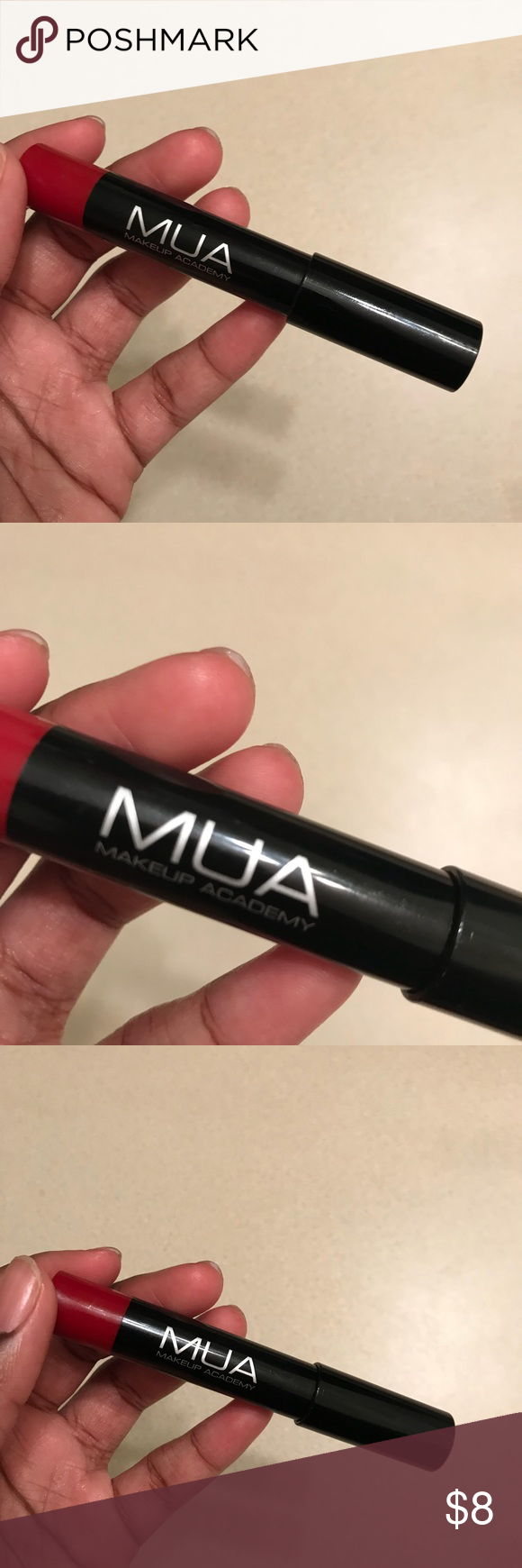 MAU Red Lipstick Makeup Academy Red Lipstick 💄 never used