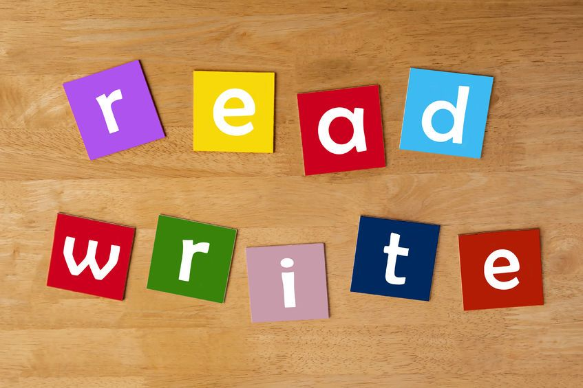 learn how to read and write english
