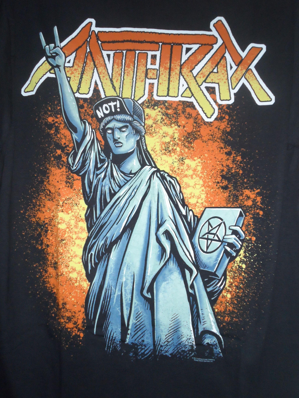 Jual Anthrax Liberty Not Original Merchandise DPM ROCK HOUSE