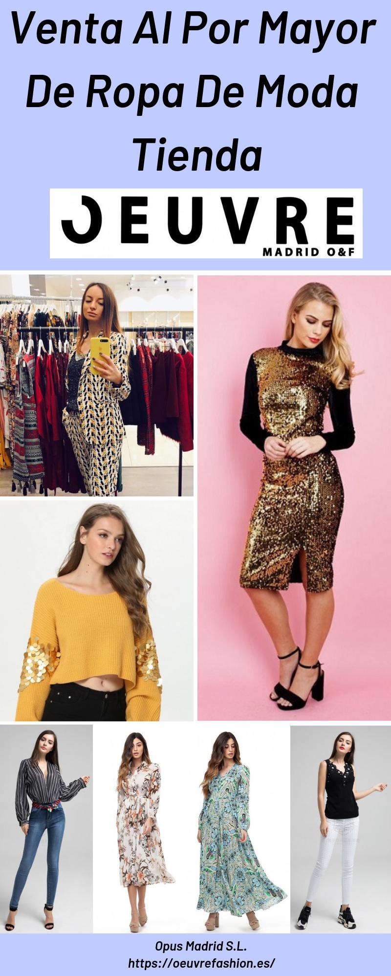 Venta Al Por Mayor De Ropa De Moda Tienda Ropa De Moda Moda Ropa