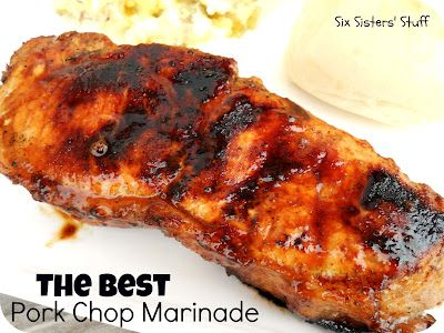 AMAZING Pork Chop Marinade