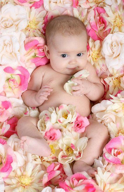 Image result for flower baby