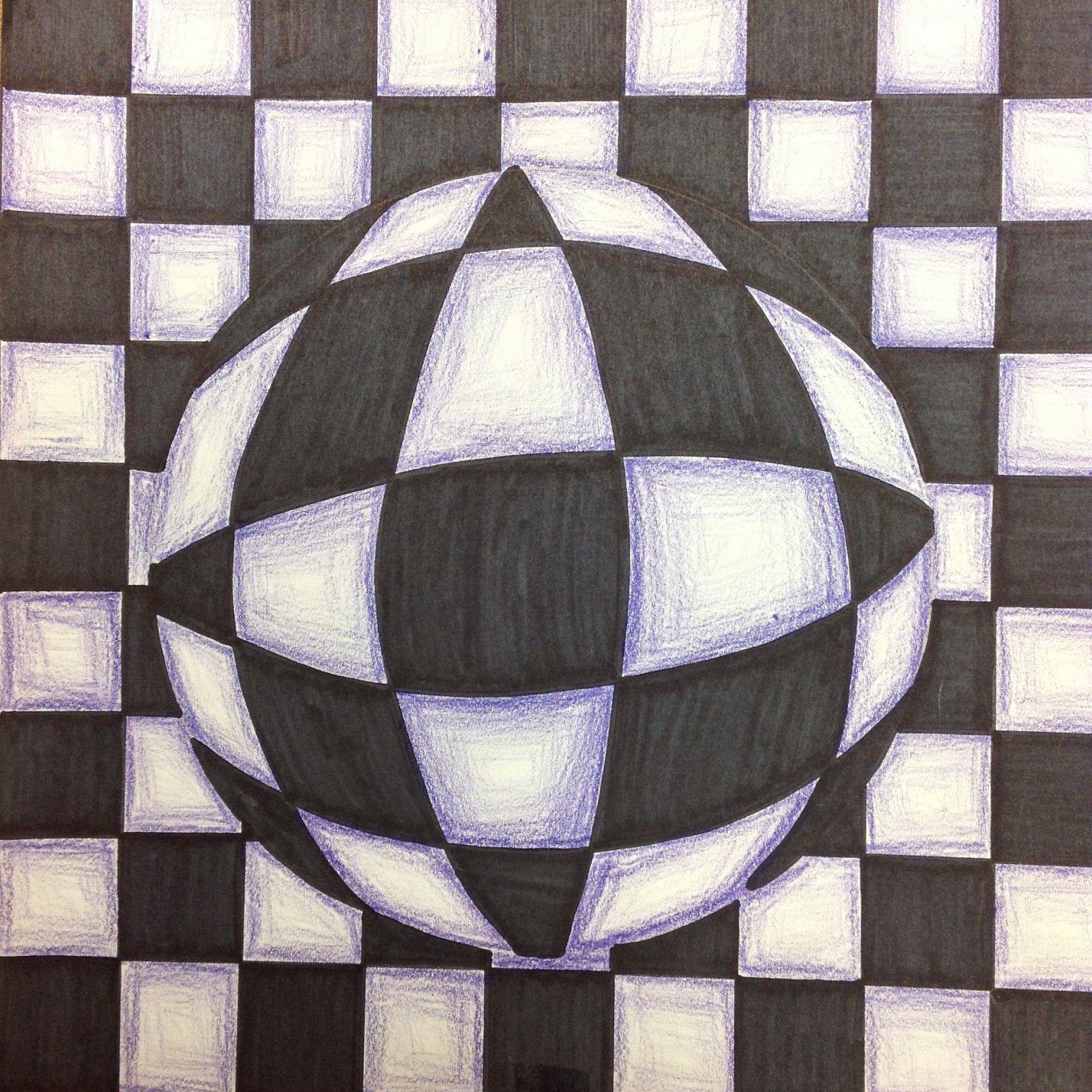 easy optical illusions - HD1600×1600