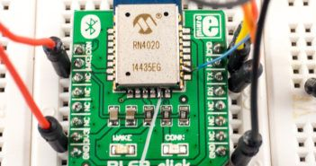 Updating firmware of a RN4020 Bluetooth module on a BLE2 click from