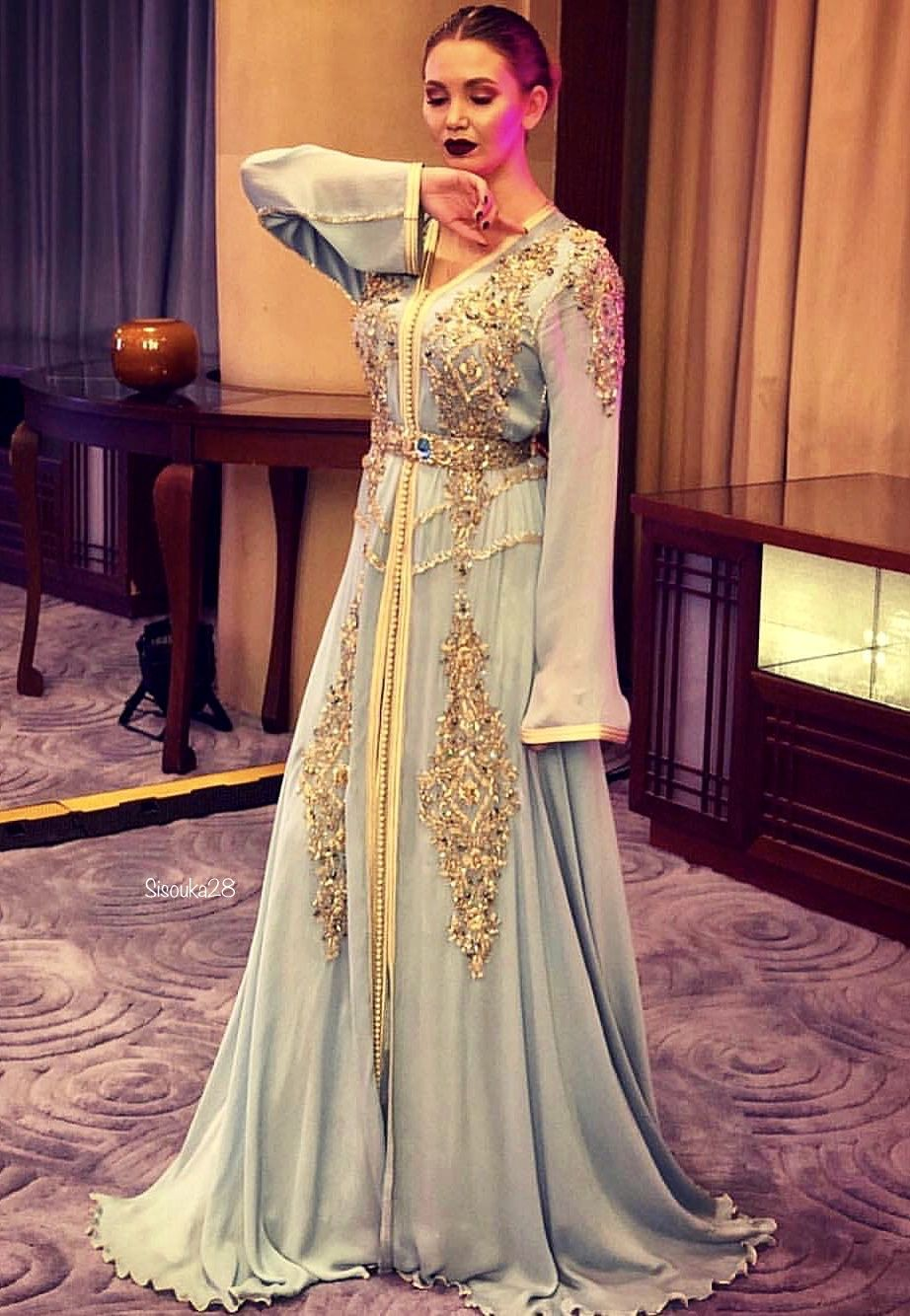 Maria Luxe | Moroccan dress, Dress to impress,