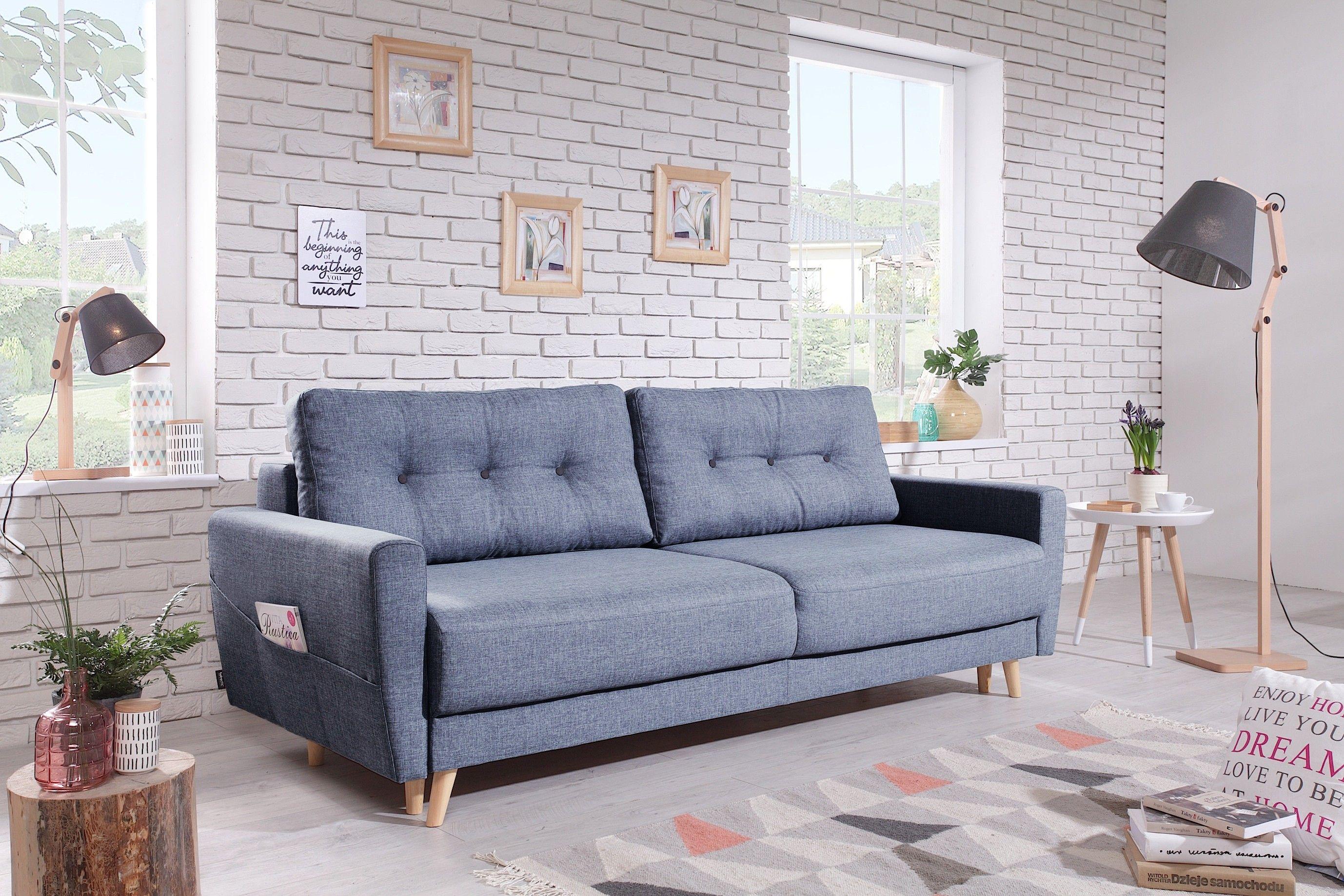 Canape Droit Convertible Coffre Scandi Bobochic Mobilier De Salon Canape Droit Meuble Design