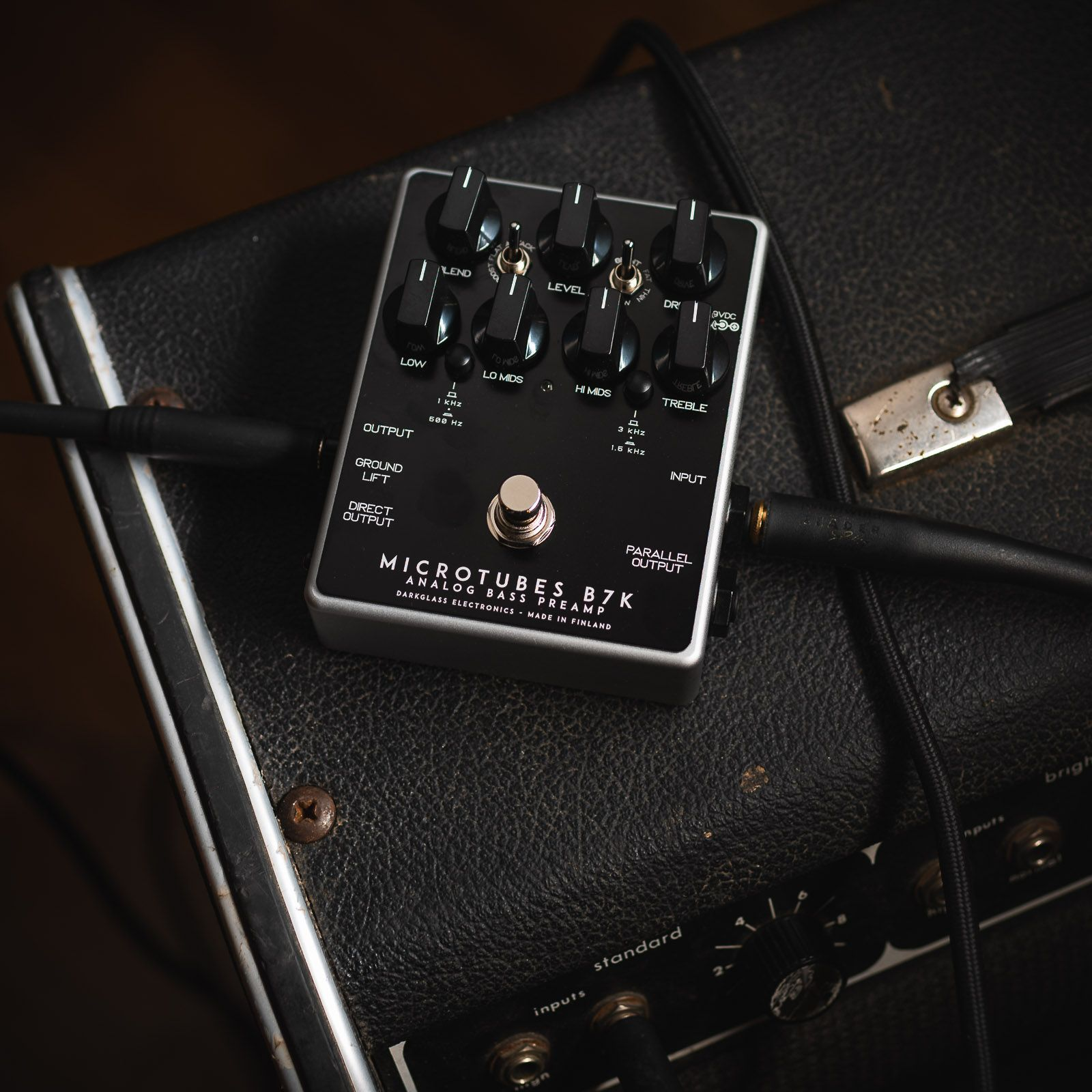 Don T Leave Home Without Your Little Black Box Chicagomusicexchange Thebassment Darkglasselectronics Microtubes In 2020 Electronics Bass Player Black Box