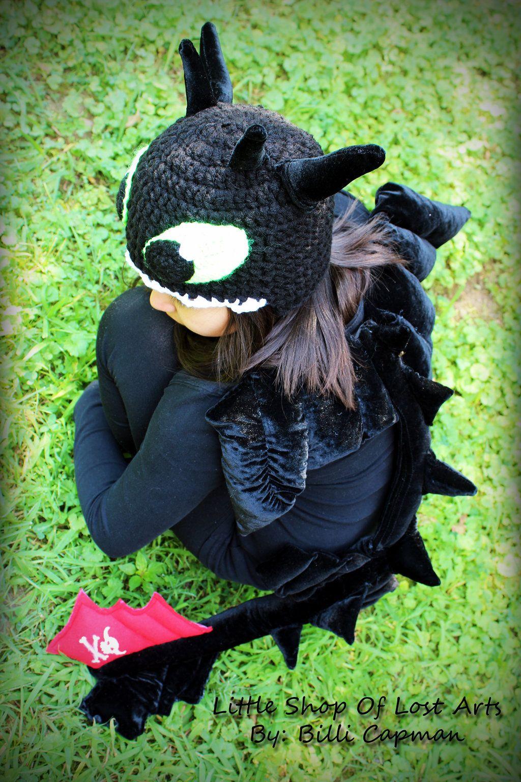 Night Fury/ Toothless costume by LittleShopOfLostArts.deviantart.com ...