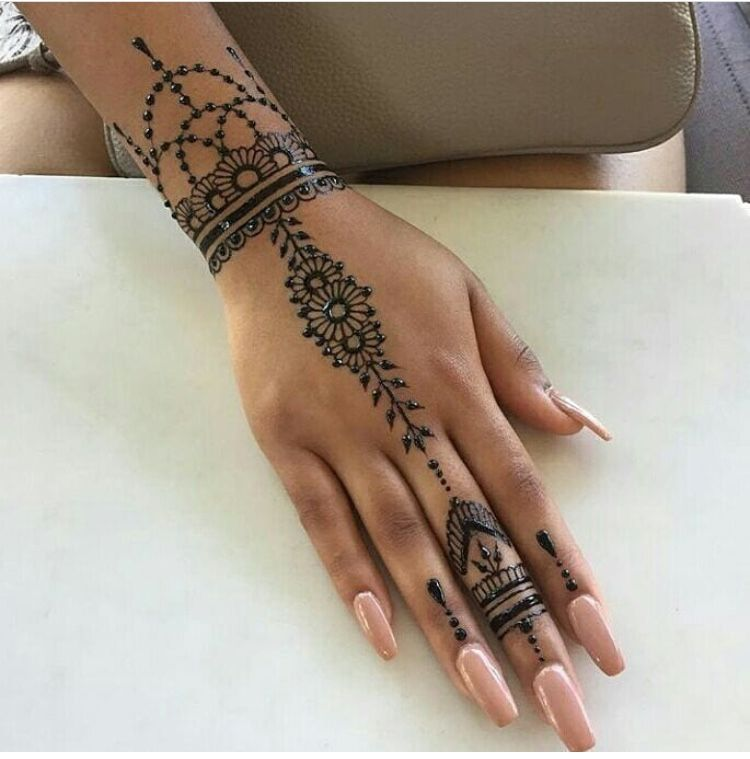 Pin By Sakura Kit On Henne Facile Henna Tattoo Designs Hand Henna Tattoo Designs Henna Tattoo Designs Simple