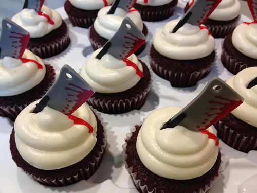 scary cupcakes for halloween