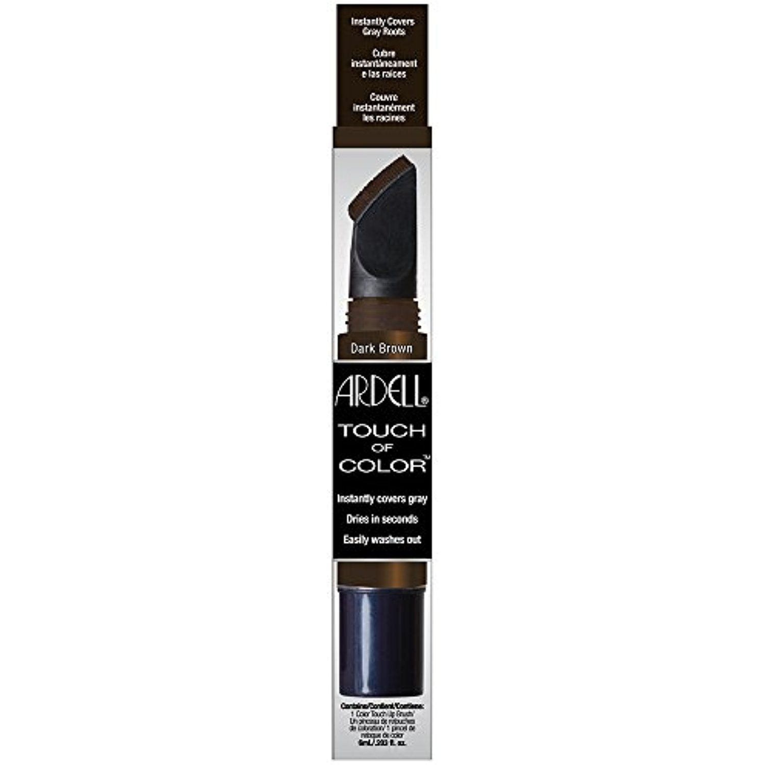 Ardell Touch Of Color Hair Dye Dark Brown 02 Fluid Ounce You