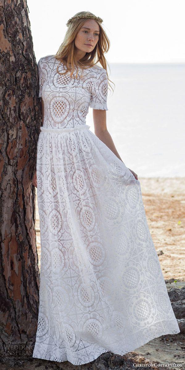 Christos Costarellos Spring 2016 Wedding Dresses | Mismatched ...