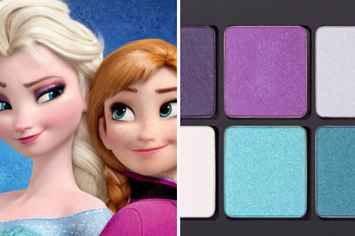 Someone Figured Out A Hack To Make Super-Cool Disney Princess Eyeshadow Palettes