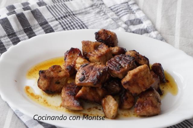 Cocinando Con Montse Cerdo Adobado Estilo Andaluz Carne De Puerco Recetas Adobado Tacos De Cerdo